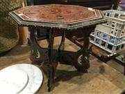 Sale 8795 - Lot 1054 - Eastern Occasional Table