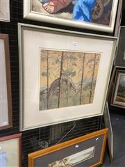 Sale 9091 - Lot 2007 - Cam Clarke View from Breadknife Top, oil on board, frame: 57 x 62 cm, signed lower right