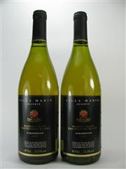 Sale 8278A - Lot 39 - 2x 1997 Villa Maria Reserve Sauvignon Blanc, Wairau Valley Marlborough