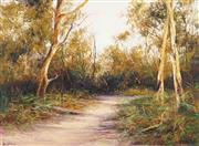 Sale 8475 - Lot 592 - Alex Andrews (1947 - ) - Fraser Island 53.5 x 73.5cm