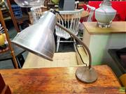 Sale 8648 - Lot 1047 - Industrial Style Desk Lamp
