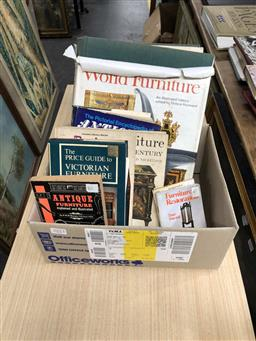 Sale 9180 - Lot 2053 - 7 Reference Books on Victoriana or Furniture incl The Price Guide to Victorian Furniture