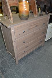 Sale 8013 - Lot 1242 - Timber Chest of 3 Drawers
