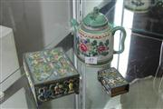 Sale 8327 - Lot 49 - Oriental Teapot & Jewellery Boxes