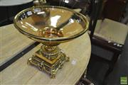 Sale 8361 - Lot 1072 - Gilt Table Centre Piece