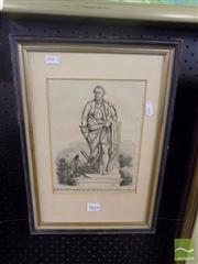 Sale 8483 - Lot 2044 - Early Captain Cook Print