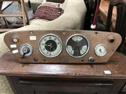 Sale 8872 - Lot 1071 - Morris 10 Series M 1947 Central Dash with 3 Smiths Instruments