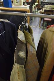 Sale 8346 - Lot 2103 - Two British vintage hunting jackets, both circa size 40 Mens