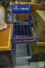 Sale 8386 - Lot 1075 - Newspaper Stand