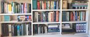 Sale 8800 - Lot 87 - Nine shelf lots of various fiction and non fiction novels, biographies, classics and reference books