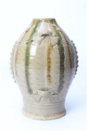 Sale 8706 - Lot 54 - Brown And Green Glazed Chinese Vase