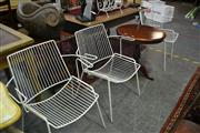 Sale 8105 - Lot 1095 - 3 Outdoor Chairs