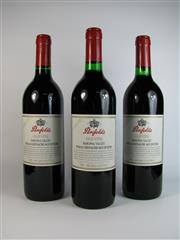 Sale 8340A - Lot 728 - 3x 1997 Penfolds Old Vine Shiraz Grenache Mourvedre, Barossa Valley - removed from original box