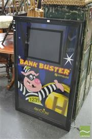 Sale 8404 - Lot 1072 - Bank Buster Advertising Lightbox
