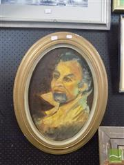 Sale 8483 - Lot 2042 - Artist Unknown, Opera Singer, Oil