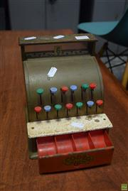 Sale 8550 - Lot 1019 - Toy Cash Register by Codeg