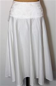 Sale 8196F - Lot 321 - A CHRISTIAN DIOR FULL SKIRT; with silk piping to waist (M).