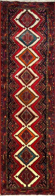 Sale 8335C - Lot 24 - Persian Hamadan Runner 283cm x 80cm
