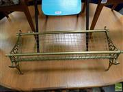 Sale 8465 - Lot 1643 - Reproduction NSW Brass Luggage Rack