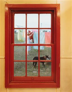 Sale 9123J - Lot 373 - Matt Kelso Picture Window #1, Sharrow NSW Type C colour print, edition 2/12 60 x 50cm signed, editioned and titled verso