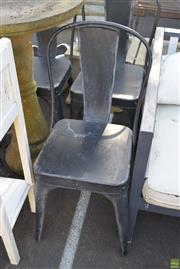 Sale 8566 - Lot 1433 - Set of Five Tolix Style Rustic Chairs