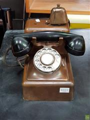Sale 8585 - Lot 1022 - Vintage Dial Phone