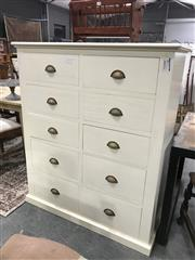 Sale 8889 - Lot 1383 - Painted Chest of 8 Drawers