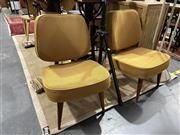 Sale 8901F - Lot 1012 - Pair of Vintage Upholstered Lounge Chairs