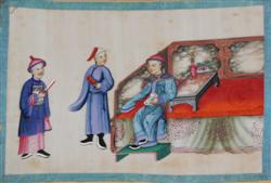 Sale 7919 - Lot 506 - Chinese School (10 Works) - Court Scenes