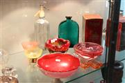 Sale 8340 - Lot 54 - Murano Art Glass Dish with Other Glass incl. Schweppes Soda Syphon