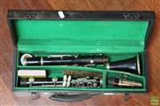 Sale 8365 - Lot 85 - French Clarinet in Case