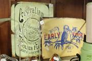 Sale 8478 - Lot 2285 - Reproduction Australian Themed Tin Signs