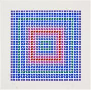Sale 8019A - Lot 55 - Victor Vasarely (1906 - 1997) - Untitled 28 x 28cm