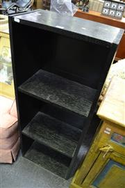 Sale 8013 - Lot 1245 - Black Painted Timber Bookcase