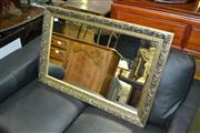 Sale 8093 - Lot 1354 - Silver Framed Mirror