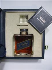 Sale 8225 - Lot 1738 - 1x Johnnie Walker Blue Label - 200th Anniversary Limited Edition Rare Blended Whisky - 750ml in Baccarat crystal decanter, in pres...