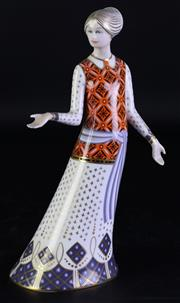 Sale 8972 - Lot 30 - A Royal Crown Derby The Classic Collection Athena Figure (H 22cm)