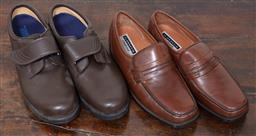 Sale 9120H - Lot 376 - Two pairs of mens shoes, including Florsheim.