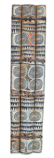 Sale 8126A - Lot 576 - Tribal Shield (New Britain, PNG)