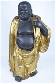 Sale 8391 - Lot 21 - Bronze Gilt Buddha Figure (Height - 71.5cm)