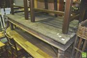 Sale 8371 - Lot 1064 - Rustic Timber Coffee Table