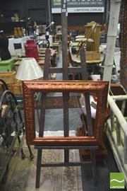 Sale 8392 - Lot 1034 - Easel with Frame