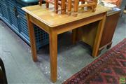 Sale 8566 - Lot 1557 - Small Timber Table