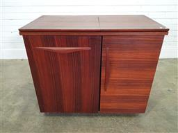 Sale 9188 - Lot 1249 - Chiswell sewing cabinet 9h:80 x w:93 x d:48cm)