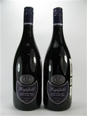 Sale 8278A - Lot 40 - 2x 2002 Highfield Estate Pinot Noir, Marlborough