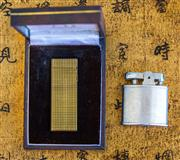 Sale 8259A - Lot 60 - A Boxed Vintage Gold Fill Dunhill Lighter, complete with original paperwork, together with a vintage Ronson lighter