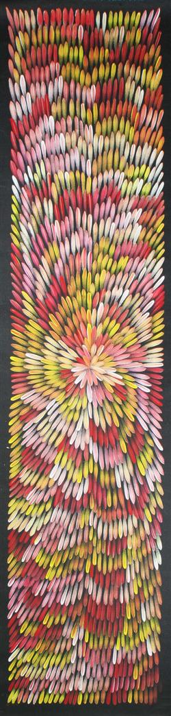 Sale 7923 - Lot 598 - Jacinta Numina - Bush Medicine Leaves 212 x 43cm