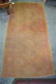 Sale 8129 - Lot 1073 - Antique Persian Chobi in faded red tones (188 x 94cm)