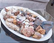 Sale 8800 - Lot 116 - A tray of assorted geological specimens