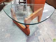 Sale 8585 - Lot 1081 - Noguchi Style Coffee Table
